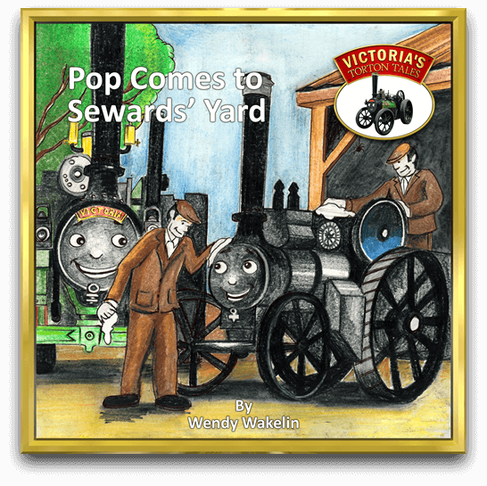 Pop Comes to Sewards' Yard Story Book by Wendy Wakelin