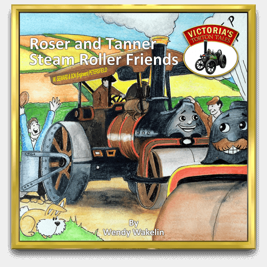 Roser and Tanner Steam Roller Friends Story Book by Wendy Wakelin