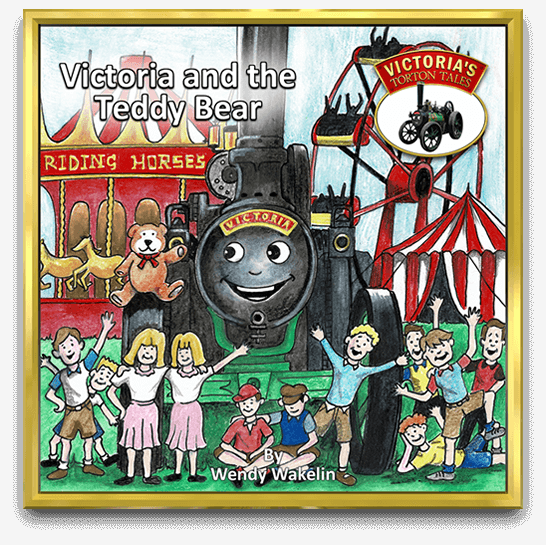 Victoria and the Teddy Bear Childrens Story Book by Wendy Wakelin
