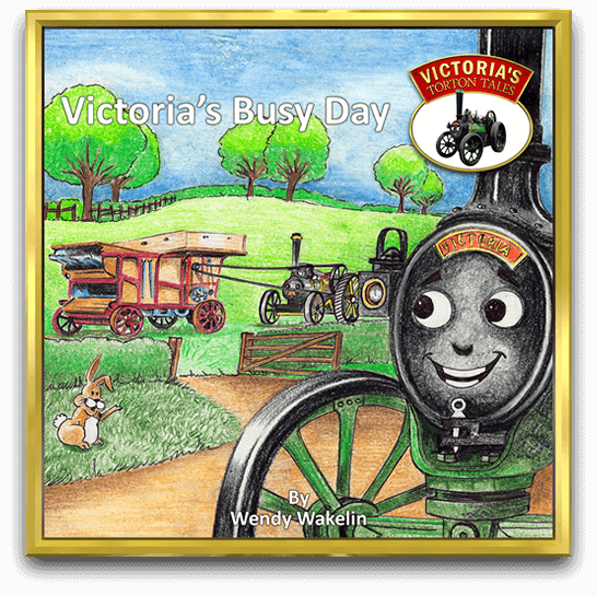 Victoria's Busy Day Story Book by Wendy Wakelin